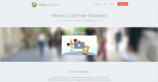Trust Reviews Website