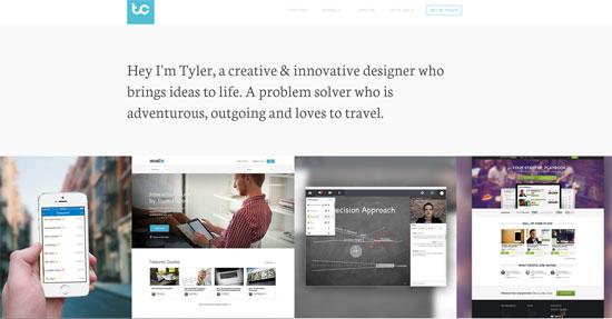 Tyler Copeland Website