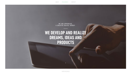 Uppercase Website