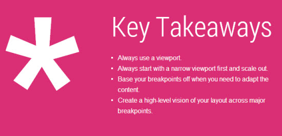 Google Web Fundamentals: Key Takeaways