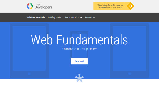 Google Web Fundamentals: Free Handbook for Multi-Device Web Design in the Making