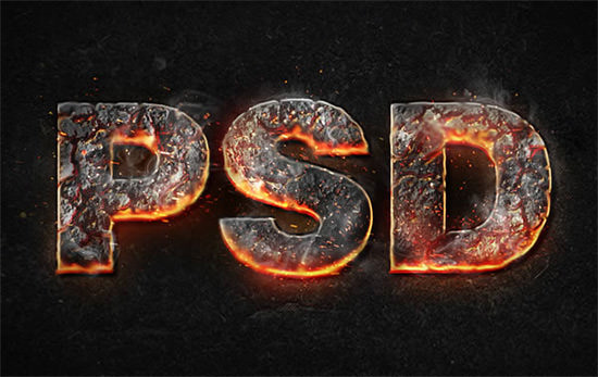 Let it Burn: 40 of The Best Text Effect Tutorials Crammed ...