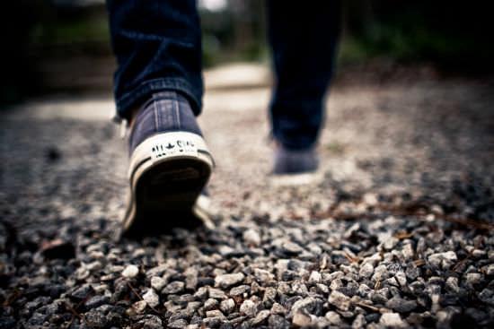 public-domain-images-free-stock-photos-shoes-walking-feet-grey-gravel-