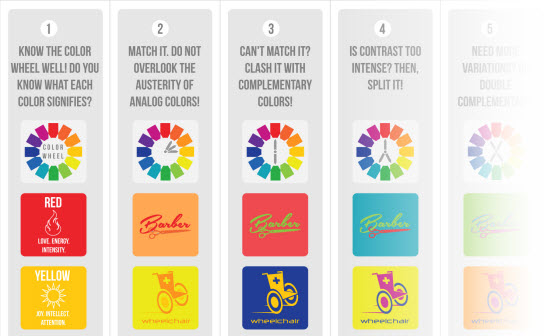 Color Theory and Typography: The 10 Commandments (Infographics)