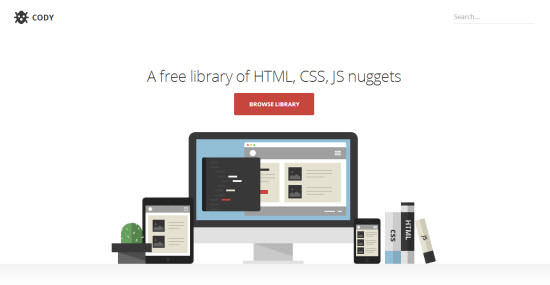 Cody – Free Library With HTML5 Gems for Instant Use