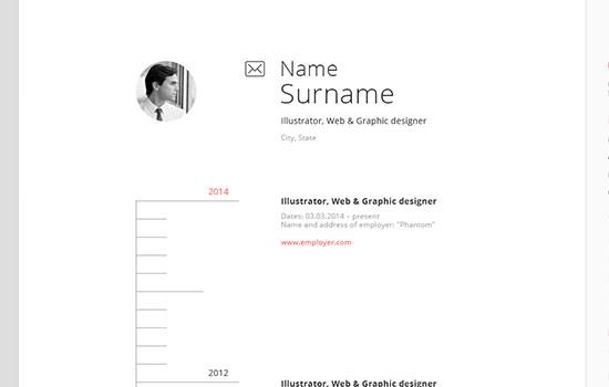 CV pack template