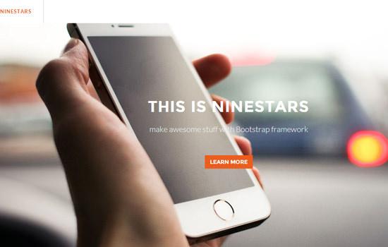 Ninestars HTML template