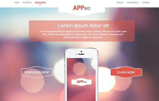 Appmo PSD template