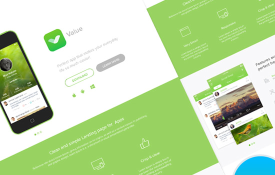 Value PSD template