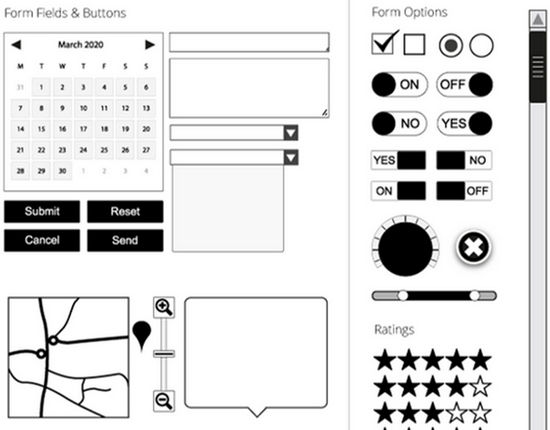vector wireframe