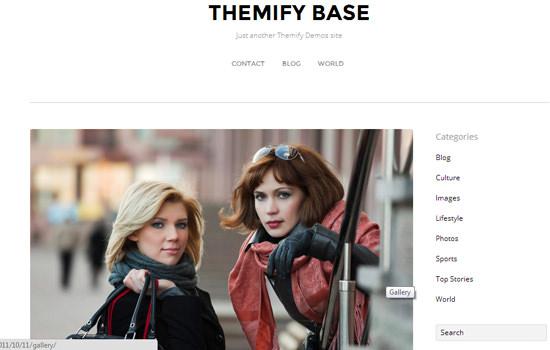 Themify WP theme