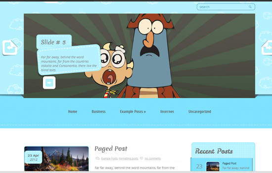 ChildrenCinema WP theme
