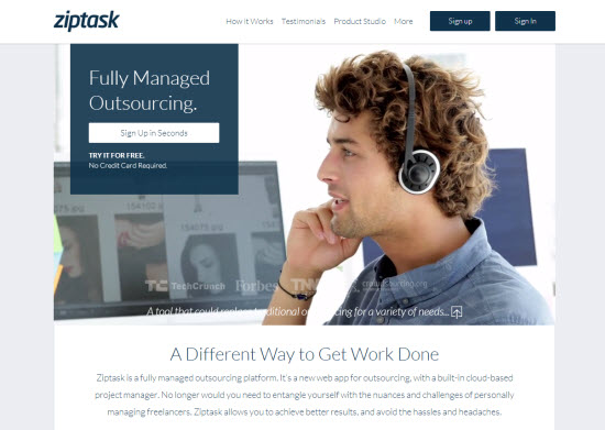 Work 3.0: Will Ziptask Disrupt the Outsourcing Market?