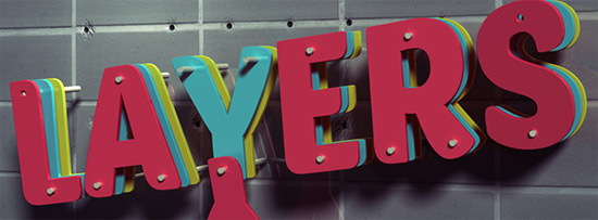 3d-layers-text-effect