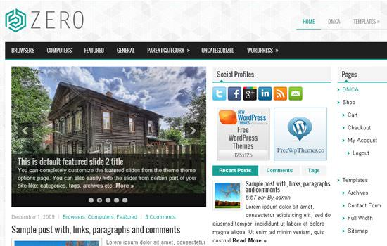 July 2014: 20 Fresh and Free WordPress Themes of the Month