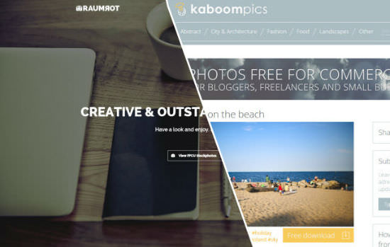 More than 700 Free Stock Photos for Commercial Use – Raumrot and KaboomPics