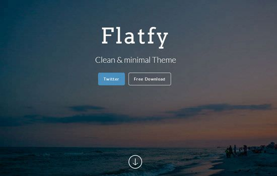 flatfy HTML template
