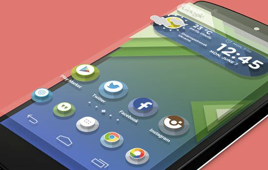 Android L launcher