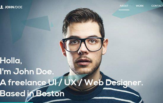 John Doe portfolio HTML template