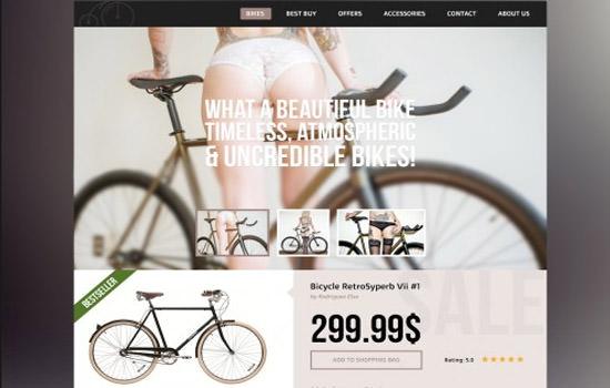 Bike store template