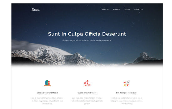 20 Free HTML, PSD and GUI Templates: August 2014 Edition