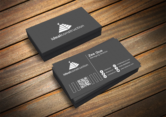 Great Free Business Card PSD Templates The Ace Up Your Sleeve - Business cards psd template