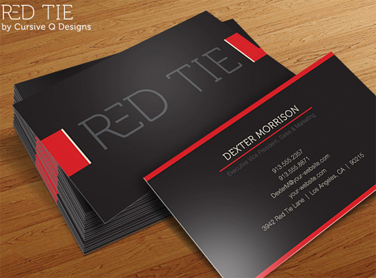 Great Free Business Card PSD Templates The Ace Up Your Sleeve - Psd business card template
