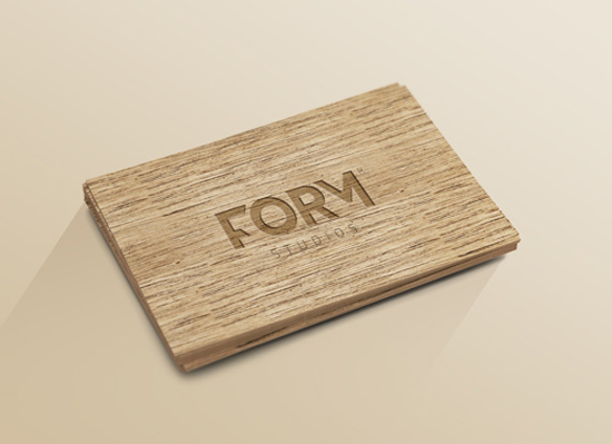 wooden-card