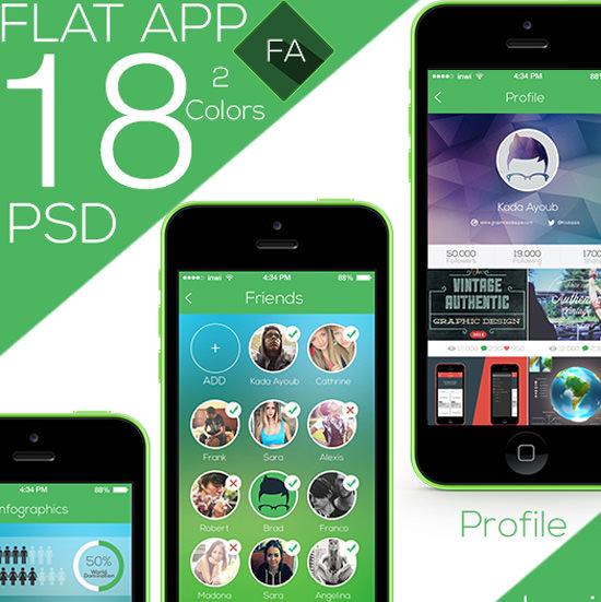 flat-app
