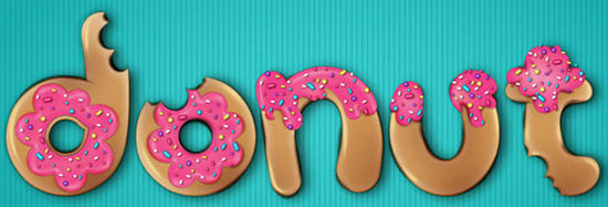 donut-text-effect