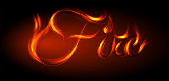fire-text-effect