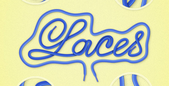 laces-text-effect