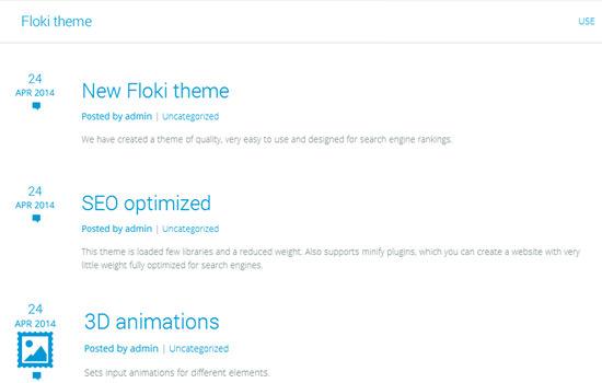 Floki WP theme