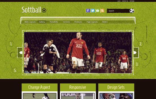 Sottball WP theme