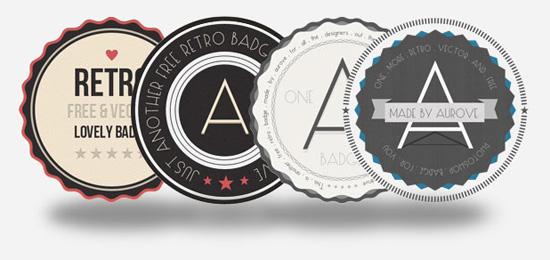 hipster-badges