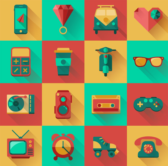 hipster-icons