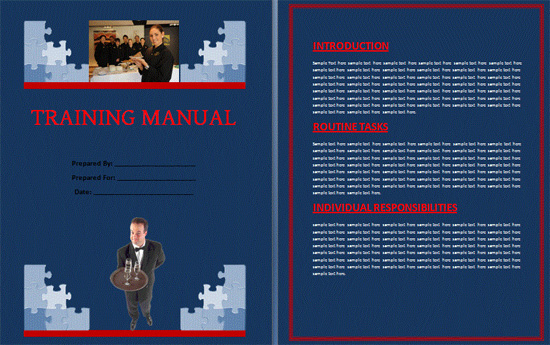 Boring Work Made Easy Free Templates for Creating Manuals noupe – Microsoft Word Training Manual