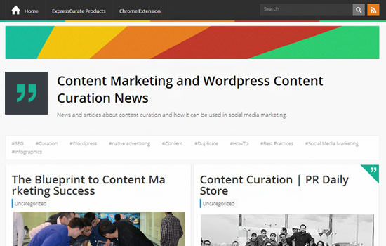 Expresscurate WP theme