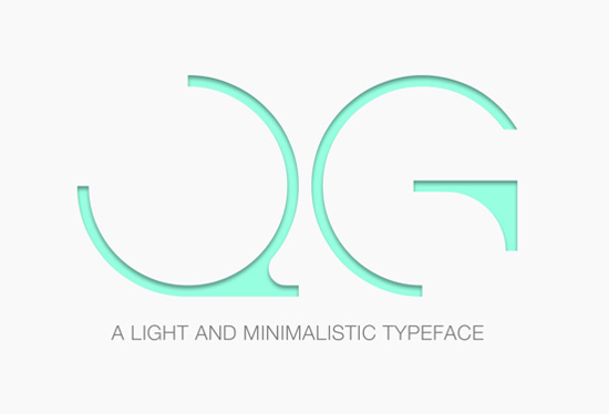 light-typeface