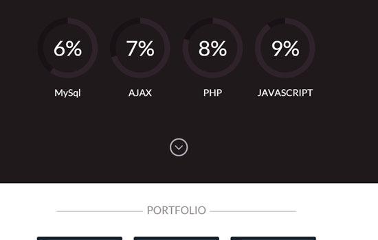 Resume HTML template