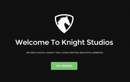 Knight HTML template
