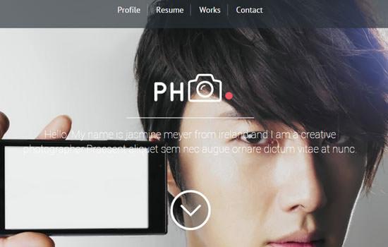 PH CV html template