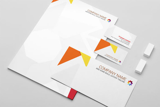 Corporate Design Made Easy 30 Free Stationery Mockup Templates – Stationery Templates for Designers