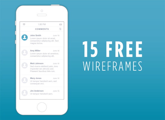15free-wireframes