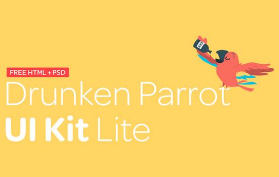 Drunken parrot ui kit lite