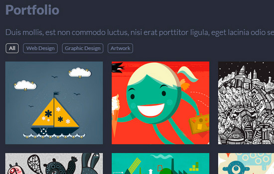 Singolo: single page website