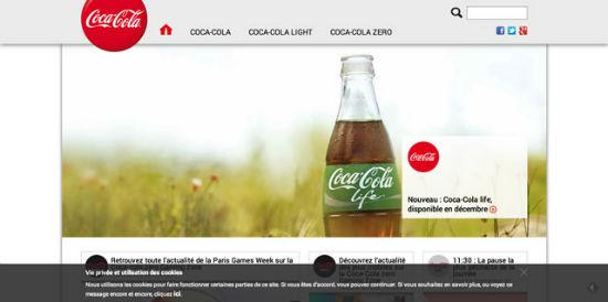 Coca-Cola Frankreich setzt auf WordPress.