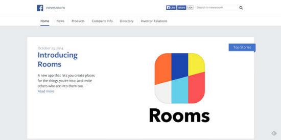 Facebook Newsroom - offizielle Ankündigungen von Facebook lesen Sie hier.