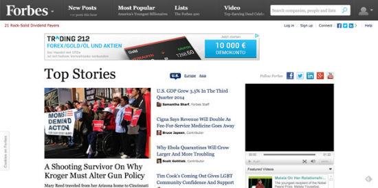 Die offiziellen Forbes Blogs