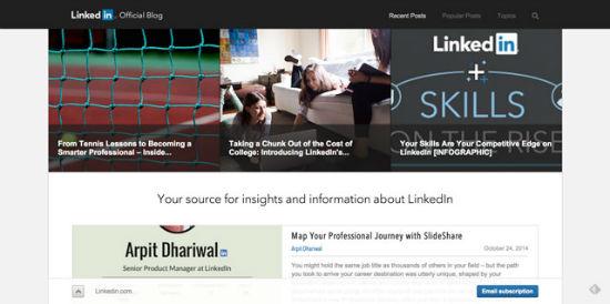 Der offizielle Blog von LinkedIn.
